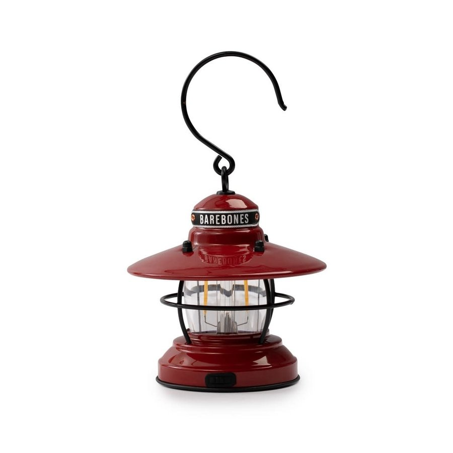 Barebones Mini Edison Latern Red-1