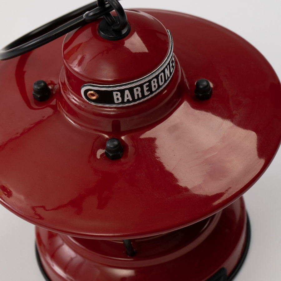 Barebones Mini Edison Lantern Red-2