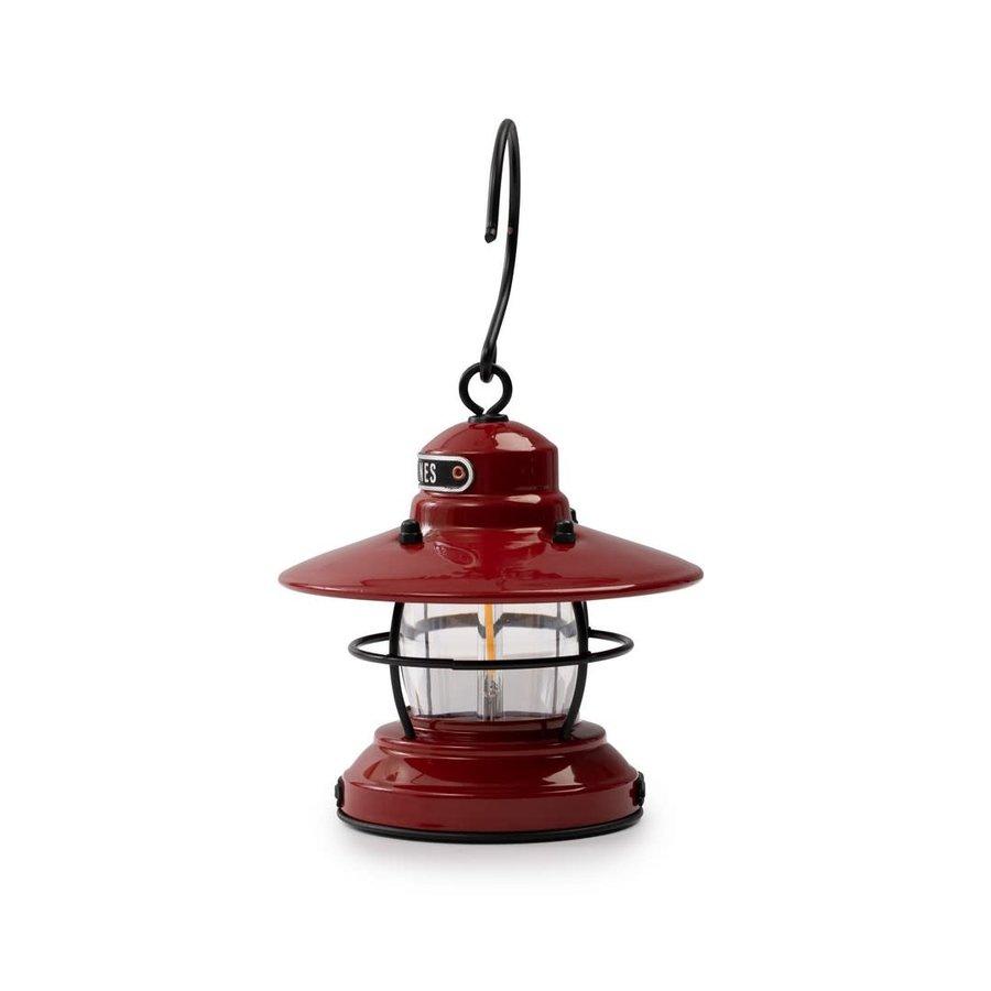 Barebones Mini Edison Lantern Red-4