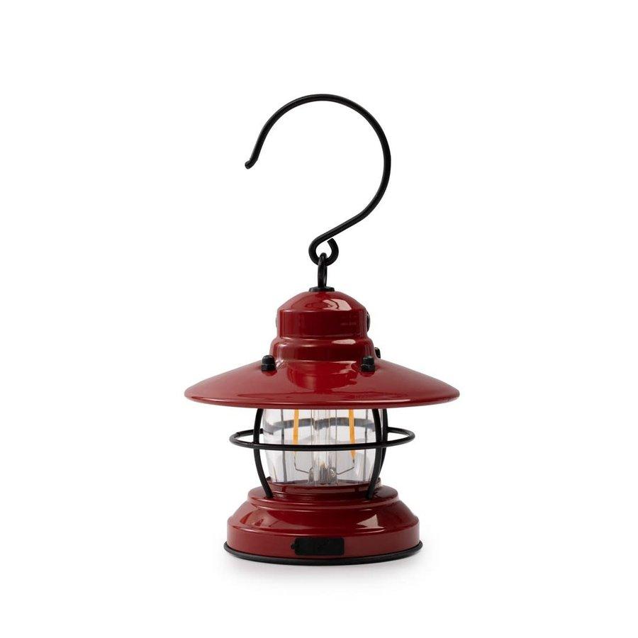 Barebones Mini Edison Lantern Red-5