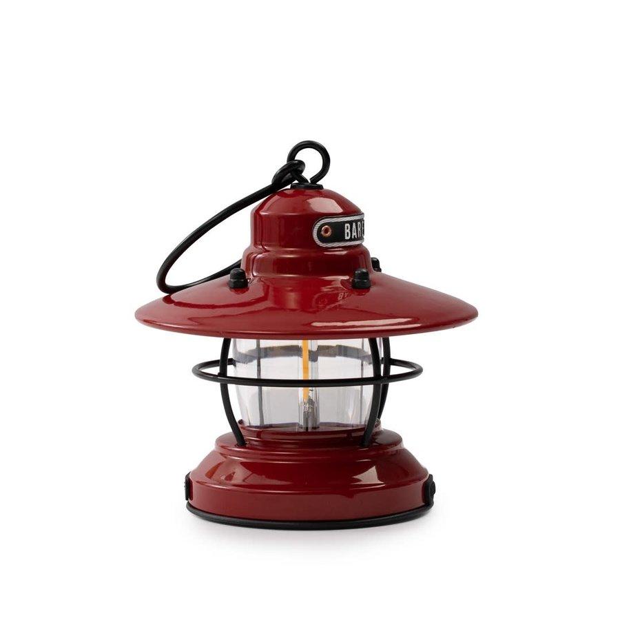 Barebones Mini Edison Lantern Red-6