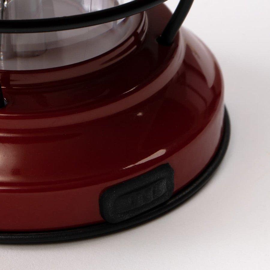 Barebones Mini Edison Lantern Red-7