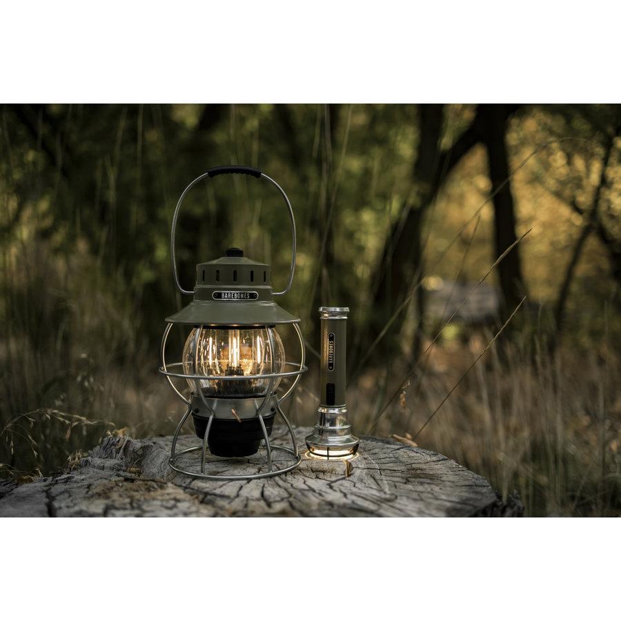 Barebones Railroad Lantern Olive-2
