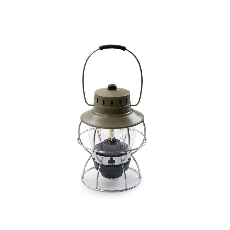 Barebones Railroad Lantern Olive-3