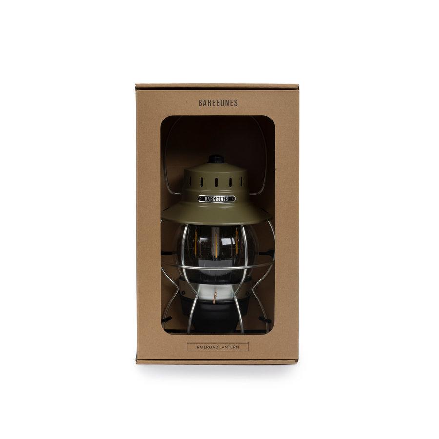 Barebones Railroad Lantern Olive-10