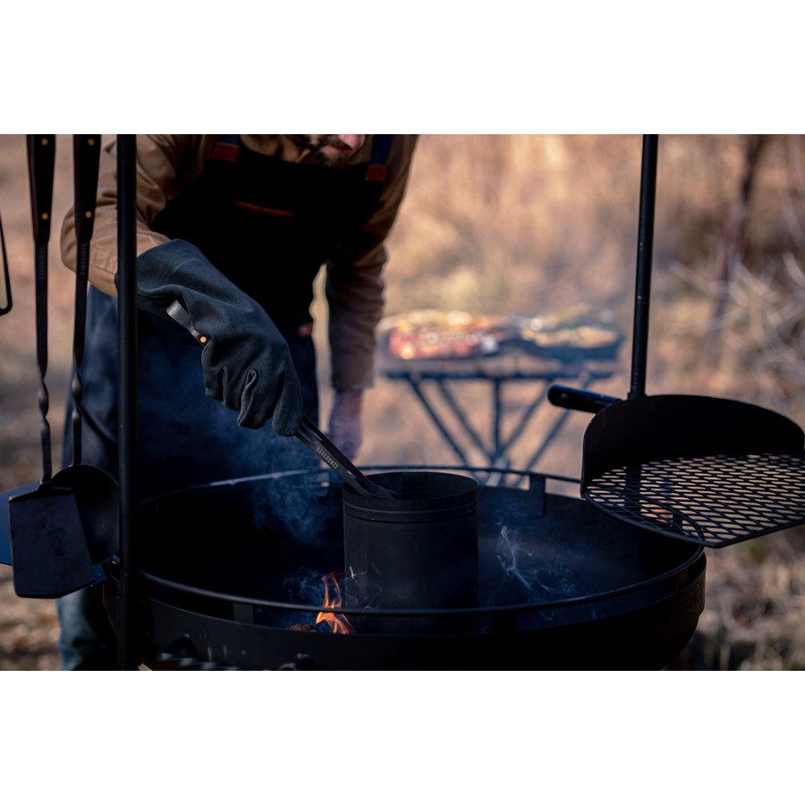 Barebones Cowboy Fire Pit Grill-5