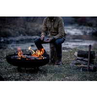 thumb-Barebones Cowboy Fire Pit Grill-7
