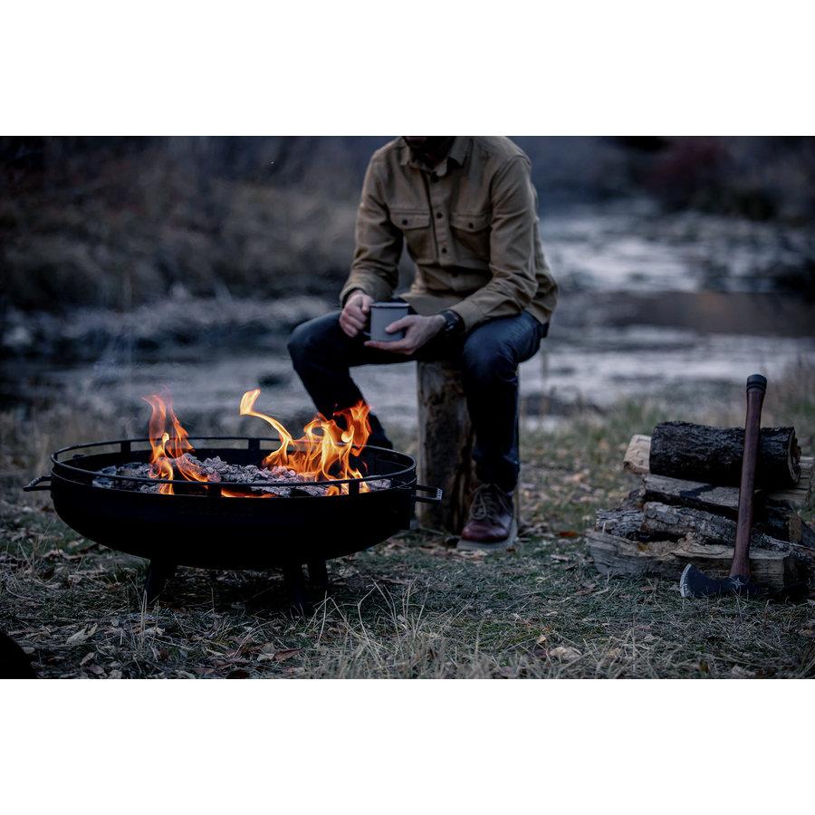 Barebones Cowboy Fire Pit Grill-7