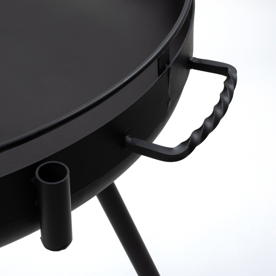 Barebones Cowboy Fire Pit Grill-10