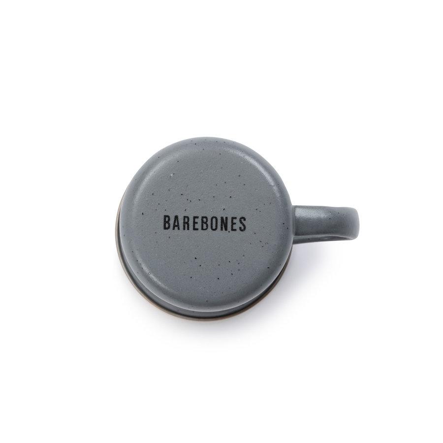 Barebones Emaille Espresso Cup 2 pcs. Stone Grey-3