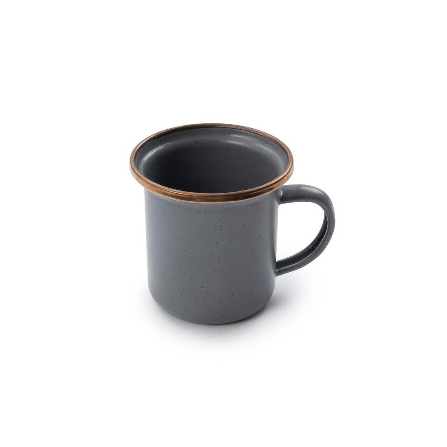 Barebones Emaille Espresso Cup 2 pcs. Stone Grey-7