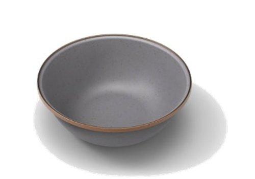 Barebones Emaille Bowl 2 pcs. Stone Grey
