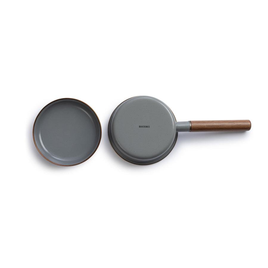 Barebones Emaille Saucepan Stone Grey-3