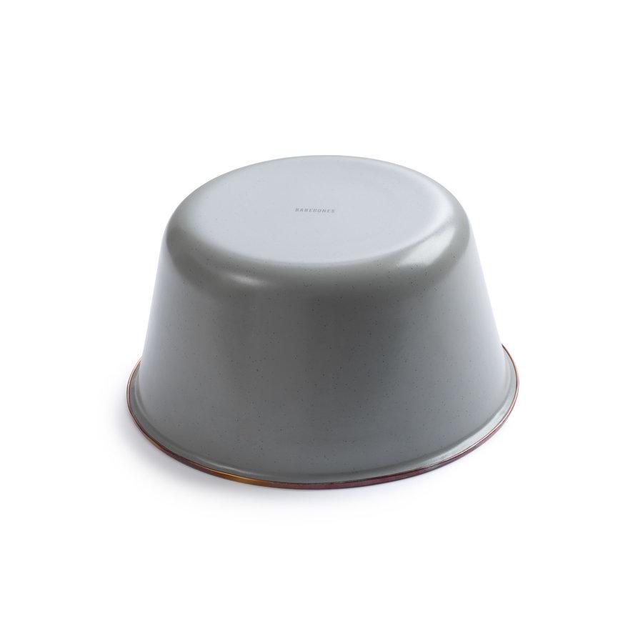 Barebones Emaille Mixing Bowl 2 pcs. Stone Grey-2