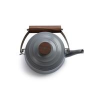 thumb-Barebones Emaille Teapot Stone Grey-4