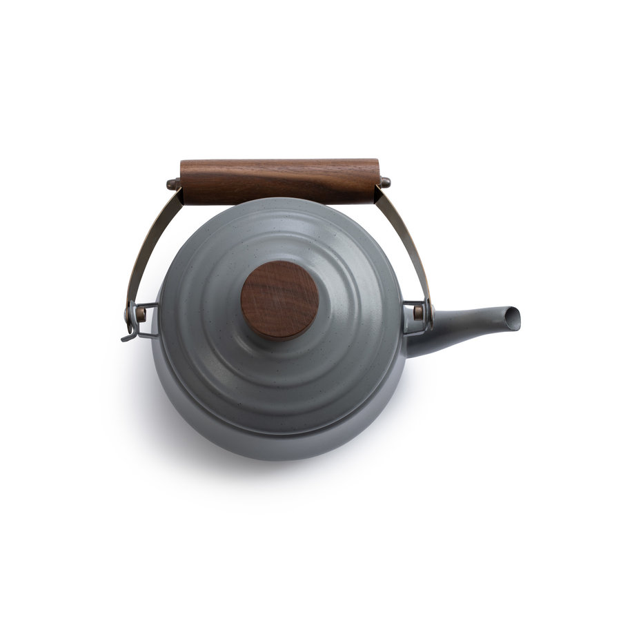 Barebones Emaille Teapot Stone Grey-4
