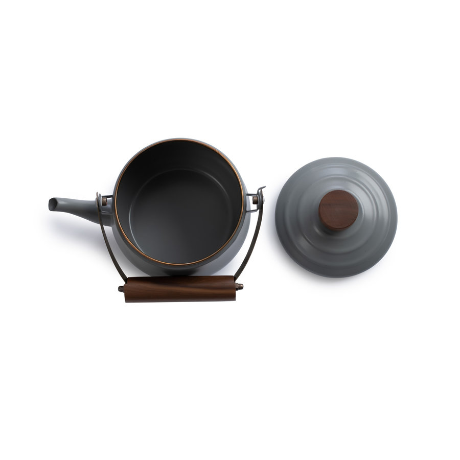 Barebones Emaille Teapot Stone Grey-8