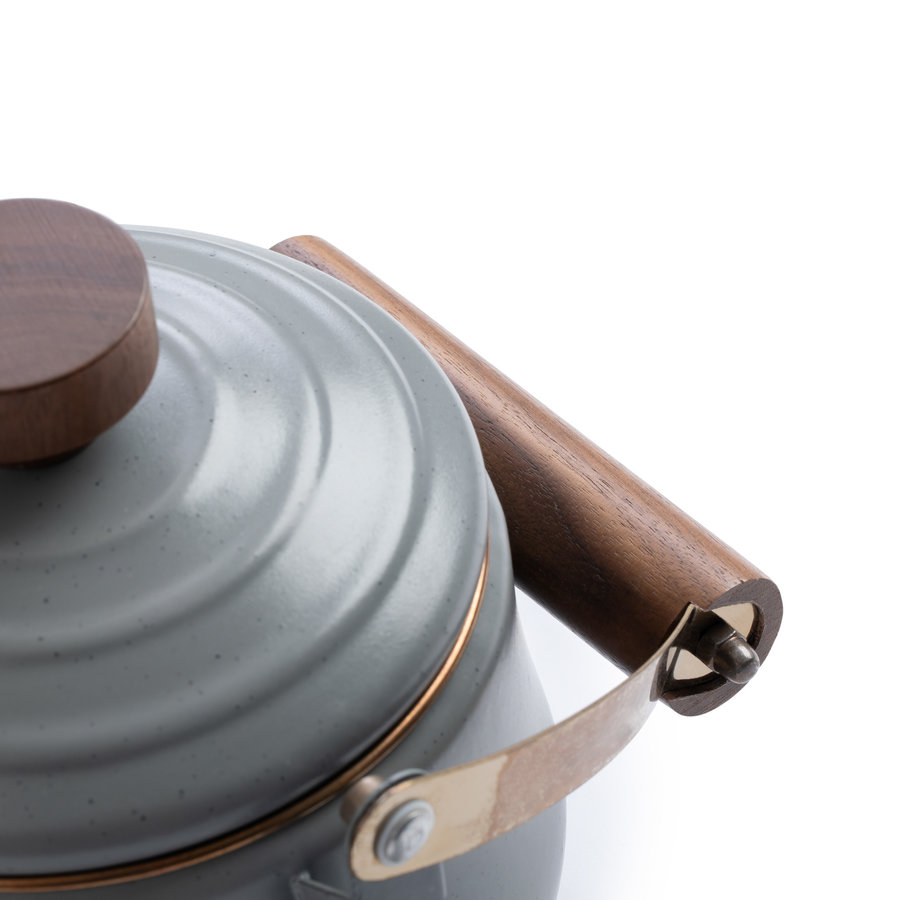 Barebones Emaille Teapot Stone Grey-10