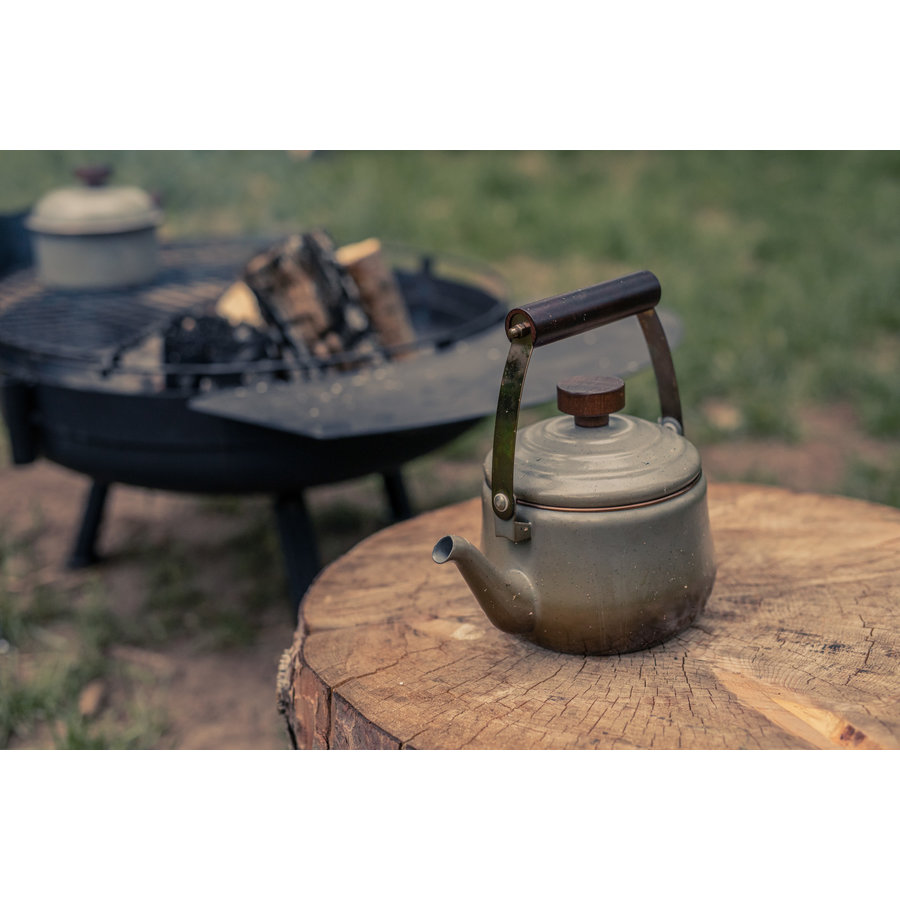 Barebones Emaille Teapot Stone Grey-11
