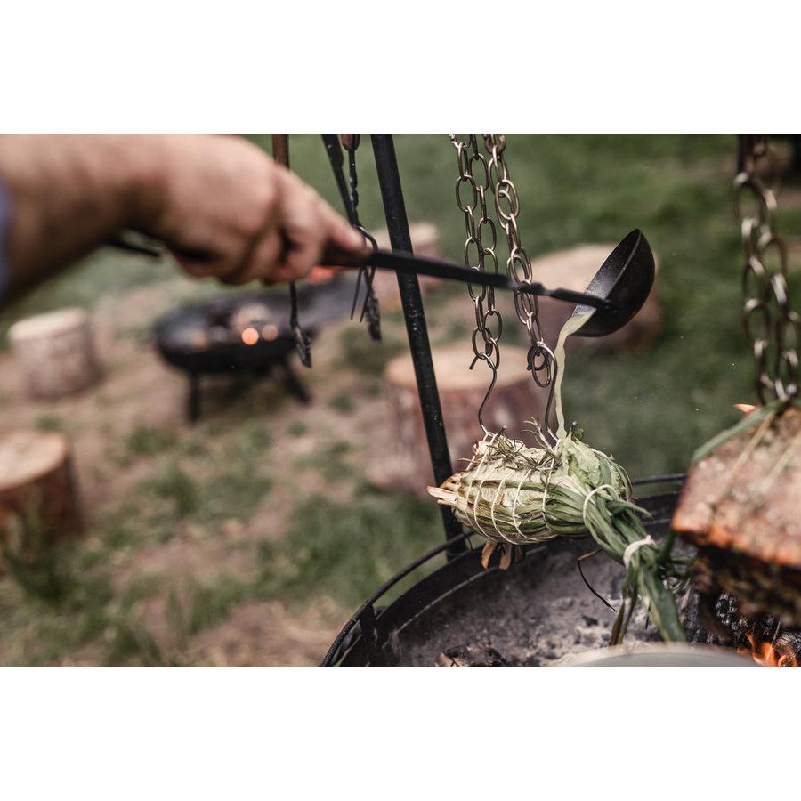 Barebones Cowboy Cooking Ladle/pollepel-3