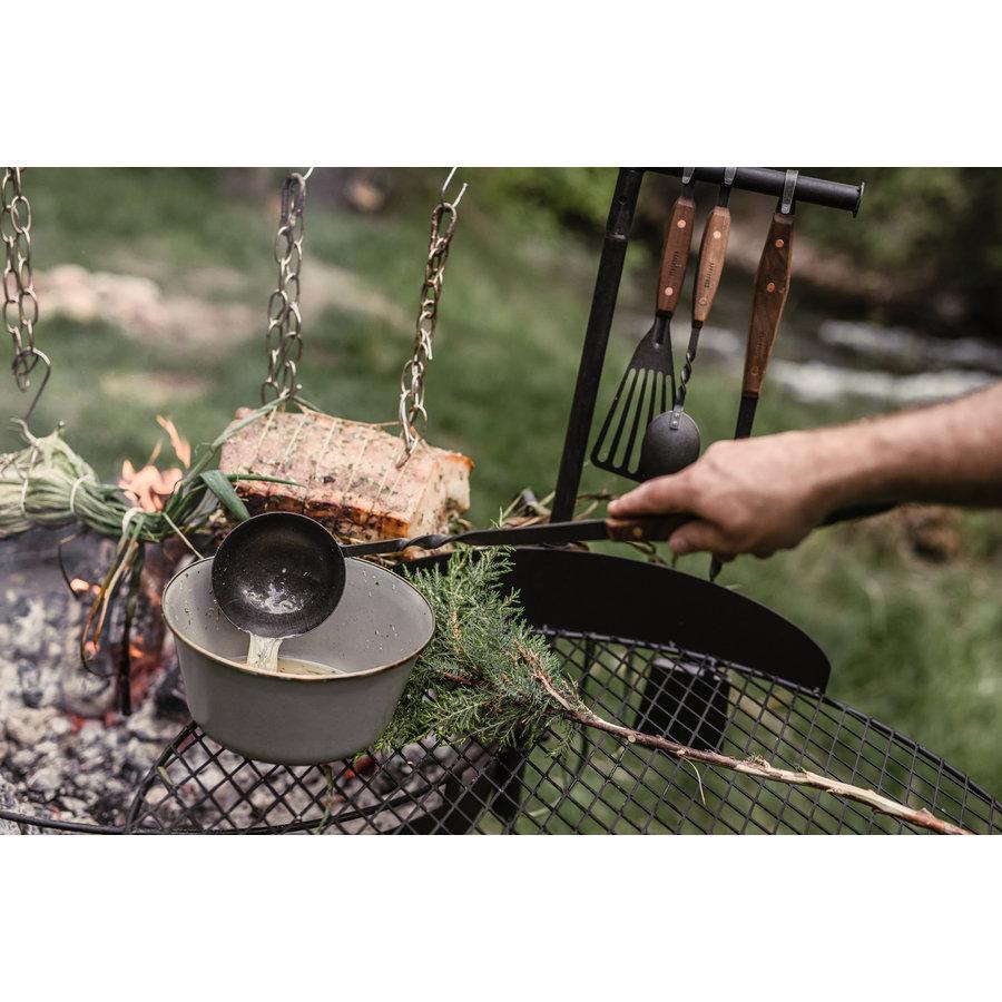 Barebones Cowboy Cooking Ladle/pollepel-8