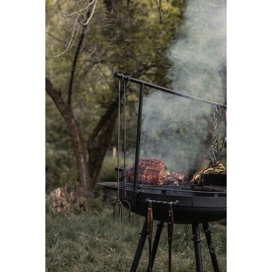 Barebones Cowboy Cooking Roaster/vorken 2 pcs.-9