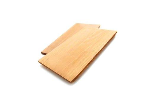 GrillPro Cedar Grillplank - 2 stuks