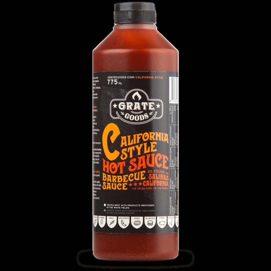 Grate Goods California Hot Barbecue Sauce (775ml)-2