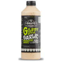 thumb-Grate Goods Gilroy Garlic Barbecue Sauce (775ml)-2