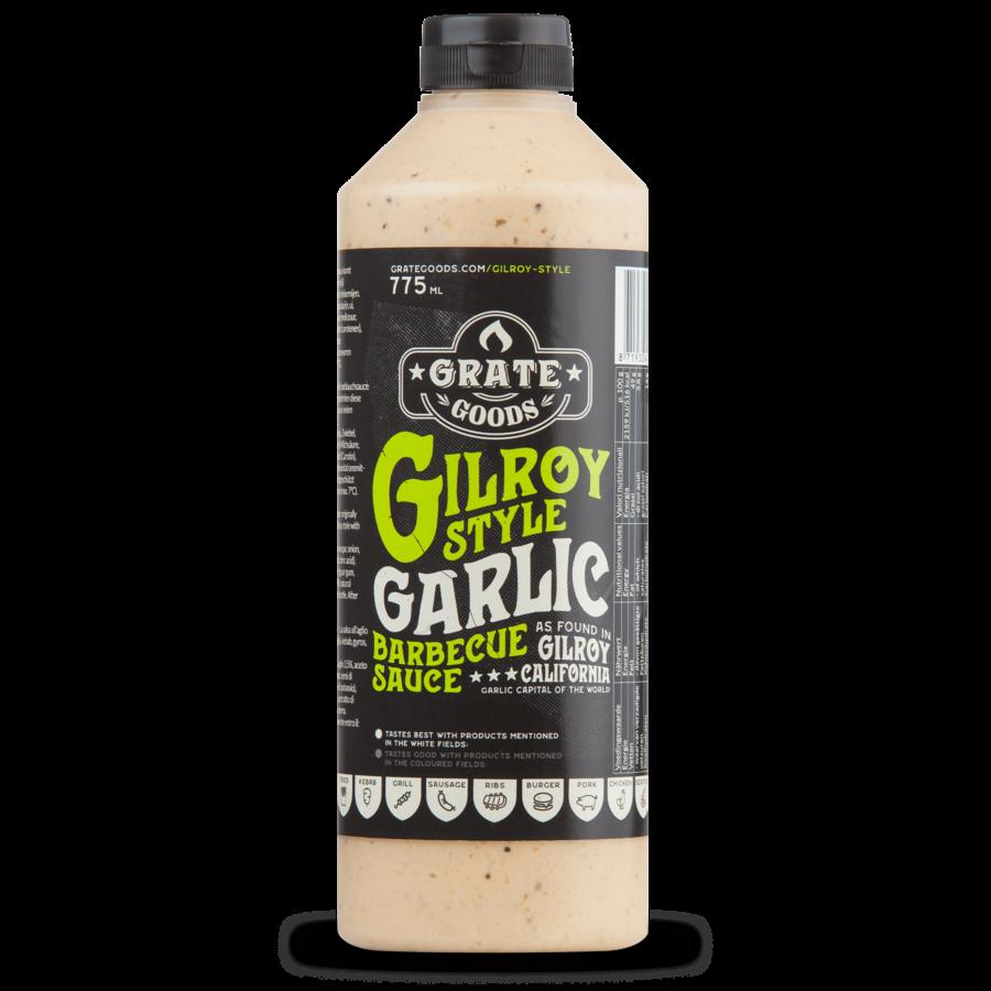 Grate Goods Gilroy Garlic Barbecue Sauce (775ml)-2