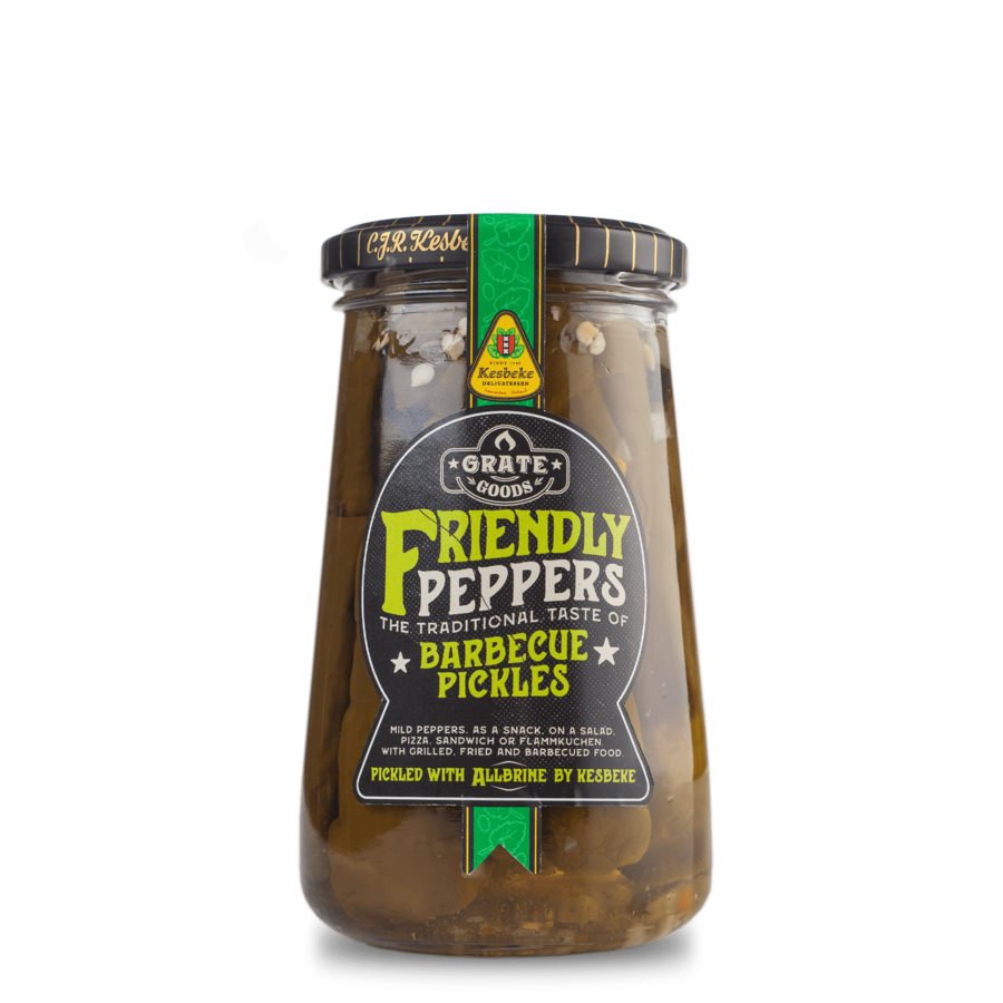 Grate Goods Friendly Peppers Barbecue Pickles-1