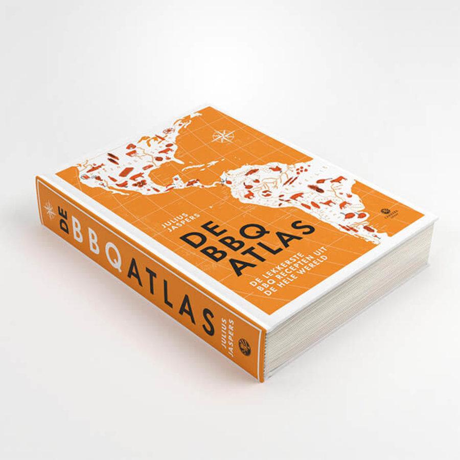 Boek De BBQ Atlas - Julius Jaspers-2