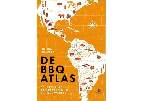Boek De BBQ Atlas - Julius Jaspers
