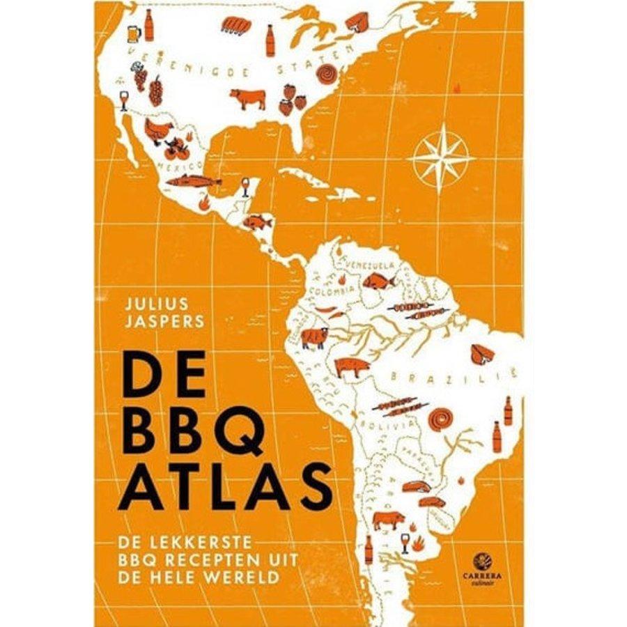 Boek De BBQ Atlas - Julius Jaspers-1