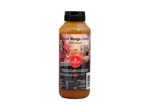 Rookoven.com Sweet Mango Curry BBQ saus
