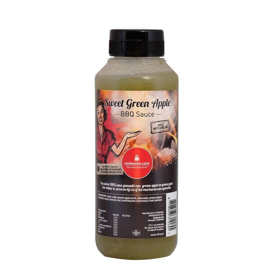 Rookoven.com  Sweet Green Apple bbq sauce-1