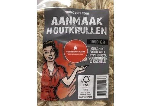 Rookoven.com Aanmaak Krullen / Wokkels (48 stuks)