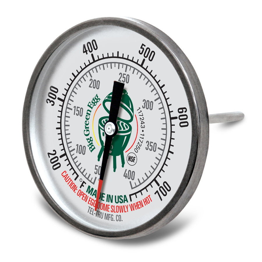 Big Green Egg Thermometer Ø 8 cm-2