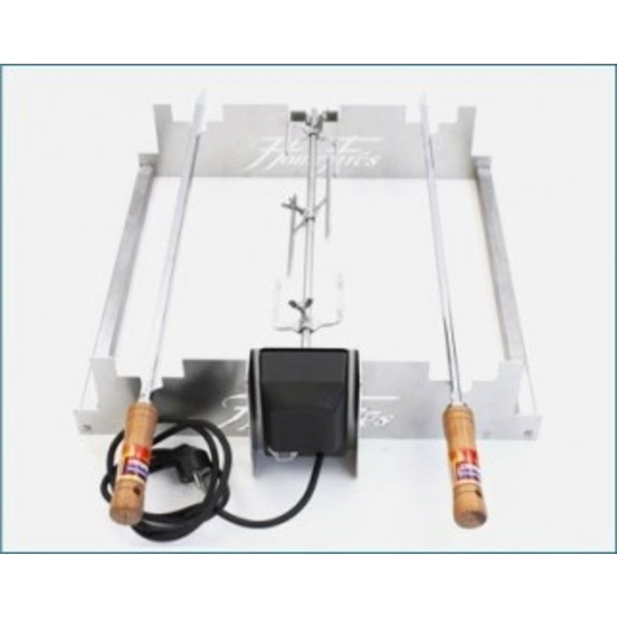 Asado frame 50cm 3 positions (800/ 1000 / 1200 braai)-1