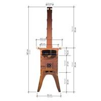 thumb-Fikki Outdoor Oven-4