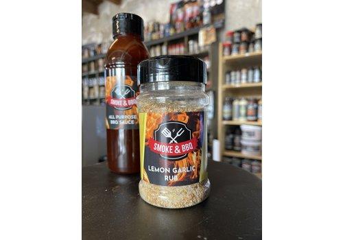 Combi-Deal Smoke & BBQ All Purpose BBQ Sauce & Lemon Garlic Rub