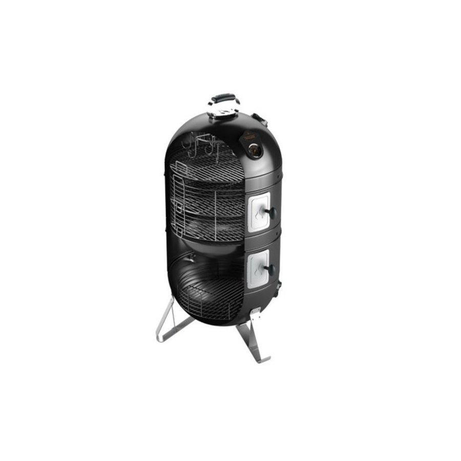 Fornetto Smoker - Razzo 22'' Zwart-3