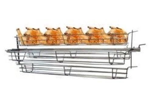 Kippenspit voor 'Varken & lam aan het spit grill / barbecue'