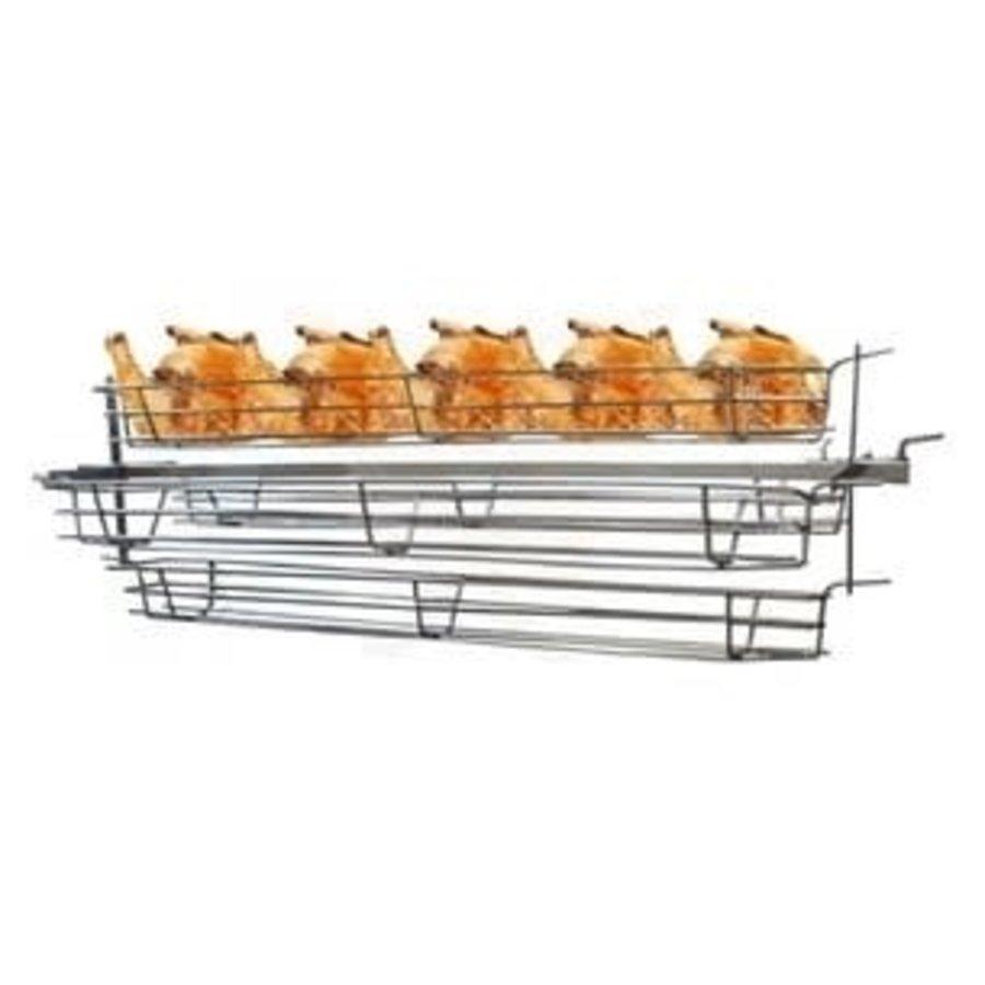 Kippenspit voor 'Varken & lam aan het spit grill / barbecue'-1