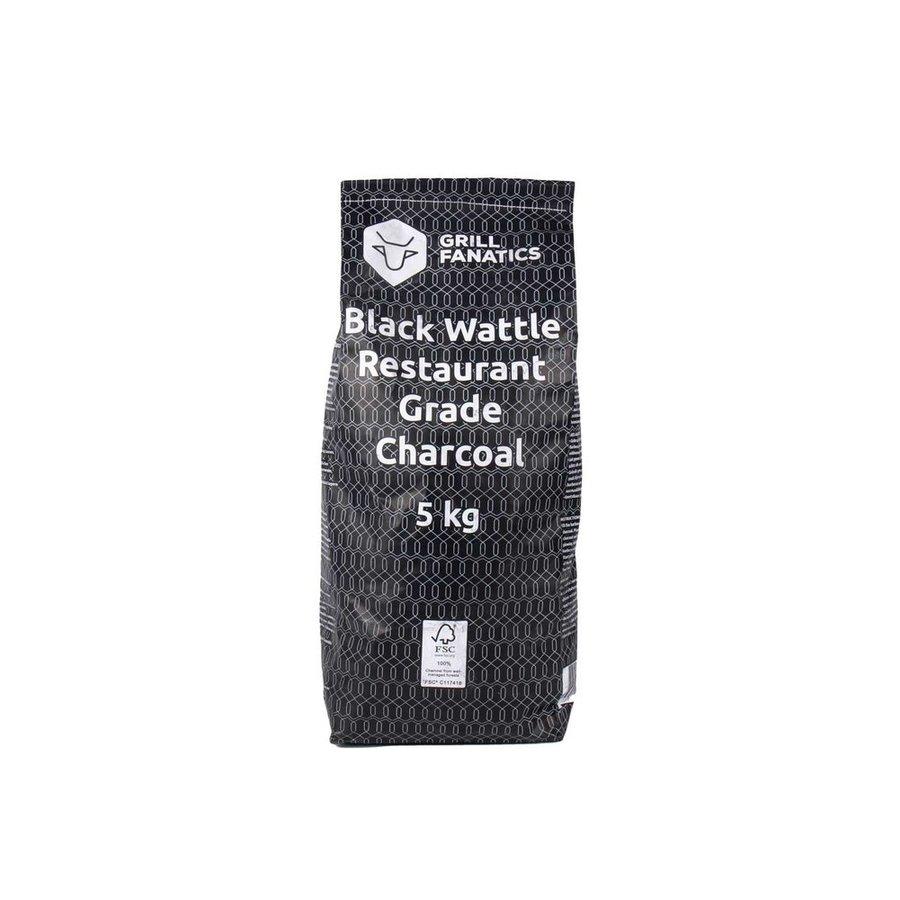 Grill Fanatics Black Wattle Houtskool FSC - 5 KG-1