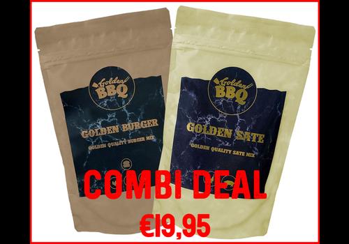 Golden BBQ Combi Deal - Golden Burger & Golden Saté