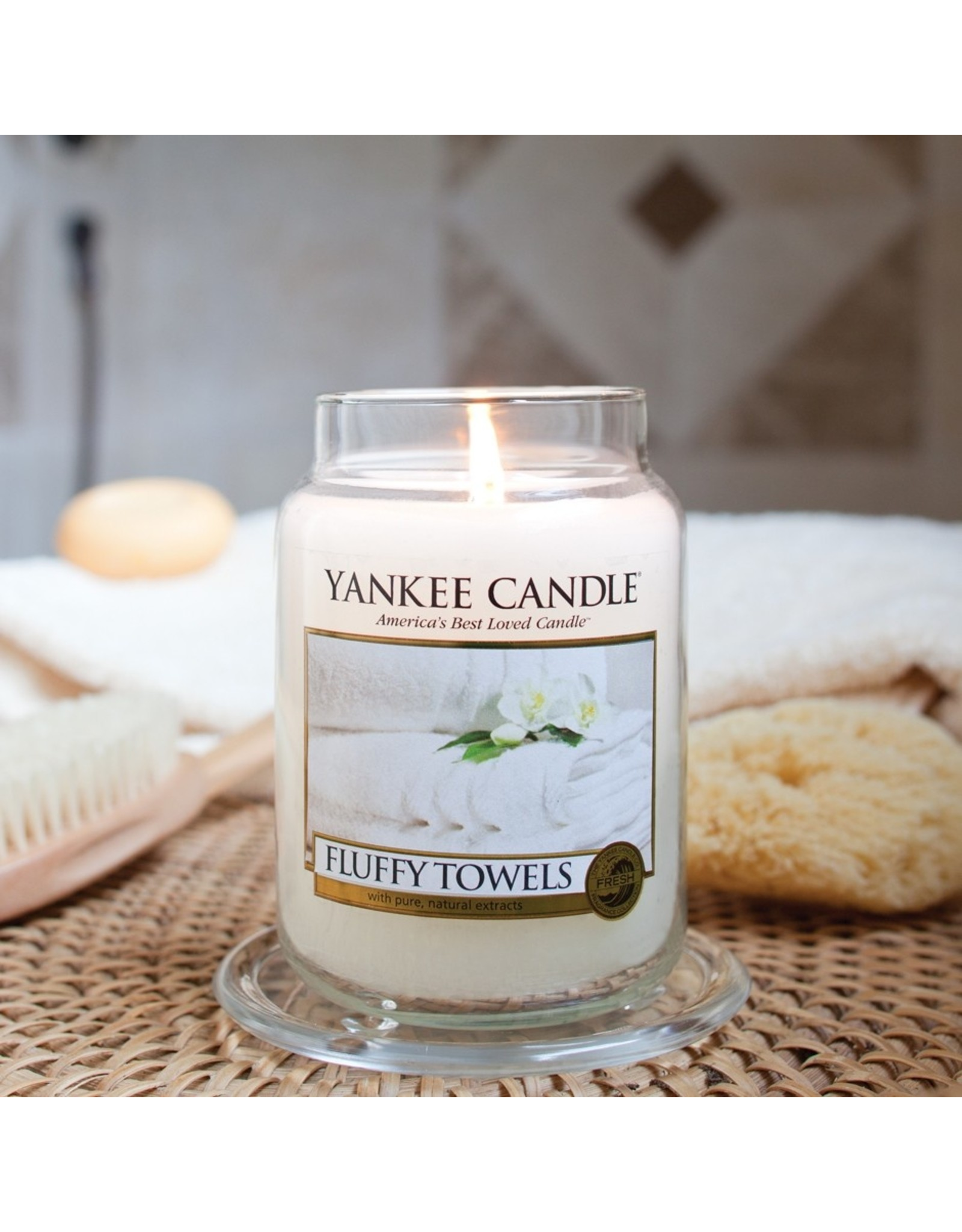 Yankee Candle Fluffy Towels Yankee Candle Large