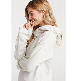 YaYa 1009167-921 Hooded sweater White Sand