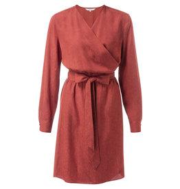 YaYa 1801131-922 Wrapped dress Fire Red