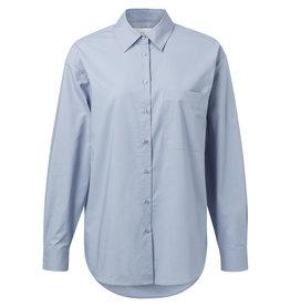 YaYa 1101108-921 Cotton Boyfriend shirt blue